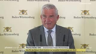 Pressekonferenz der landesregierung baden-württemberg zur aktuellen corona-sachlage am 20.03.20