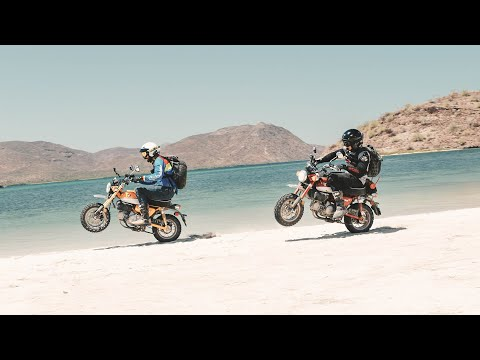 Throttle Out FULL EPISODE - 1,000 Miles in Baja on Honda Monkeys