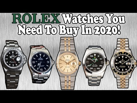 Rolex Watches You Need To Buy Before Prices Increase! (2020)