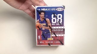 Panini 2017-18 NBA Hoops Basketball Cards Unboxing