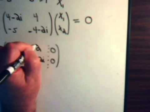 how to find eigenvectors given eigenvalues