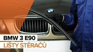 Instalace zadní a přední List stěrače BMW 3 SERIES: video příručky