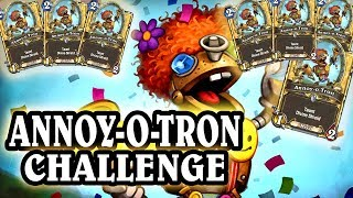 Hearthstone - 7 Annoy-o-Tron Challenge, OTK Decks, Funny, Lucky & WTF Moments
