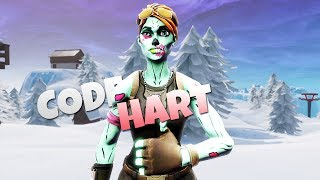[CODE HART] - FORTNITE MONTAGE! (SEASON 8 BR + CREATIVE)!