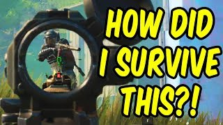 How did I survive this?! - Cod Battle Royale WIN