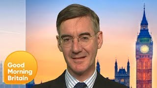 Jacob Rees-Mogg Backs Boris Johnson in Tory Leadership Race | Good Morning Britain