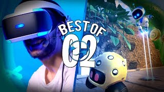 BEST OF : Les jeux de Plateforme sur PSVR avec Laink et Hugo Délire ! #2
