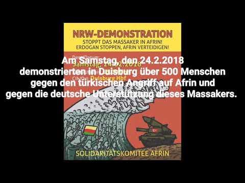 #Duisburg Demonstriert In #Solidarität Mit #Afrin