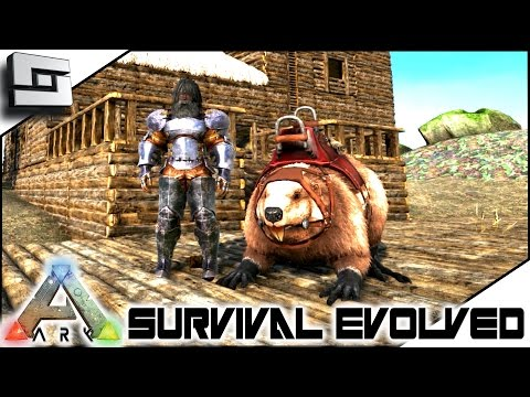 ARK: Survival Evolved - HOT BEAVER TAMING ACTION! E5 ( Procedurally Generated Gameplay )
