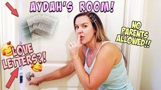 WE FOUND A SECRET LOVE LETTER IN AYDAH'S ROOM!!