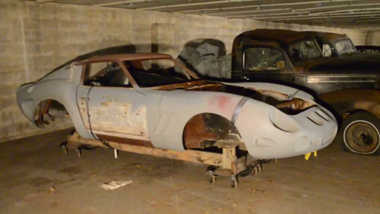 Barn Find Car Collection