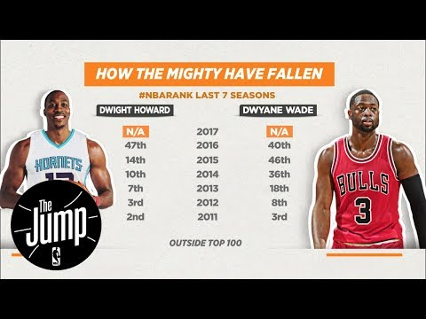 Should Dwyane Wade and Dwight Howard be considered Top 100 NBA players? | The Jump | ESPN