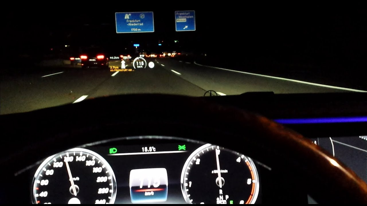 head up display mercedes s class youtube. Black Bedroom Furniture Sets. Home Design Ideas