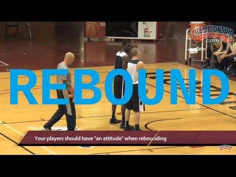 Teach Rebounding Skills With Chris Mack's 1-on-1 Drill!