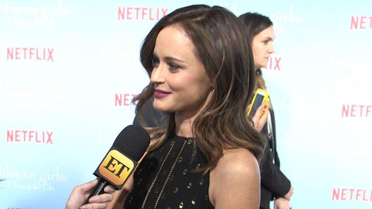 Download EXCLUSIVE: 'Gilmore Girls' Star Alexis Bledel Spills Last 4 Words and How Rory's Life Will Change!
