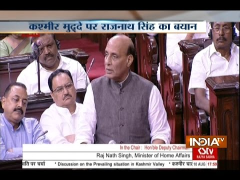 Talks with Pakistan Only on PoK, Not Kashmir: Rajnath Singh Tells Parliament