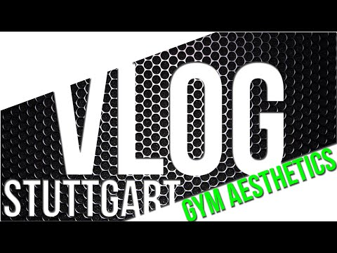 Stuttgart Vlog - Training, Shooting, Shopping & Gainz - ROADTOGLORY