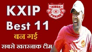 Kings XI Punjab Predicted Best Playing 11 for IPL 2018 | KXIP Best 11 IPL 2018