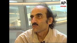 FRANCE: PARIS: MAN WHO LIVES AT CHARLES DE GAULLE AIRPORT