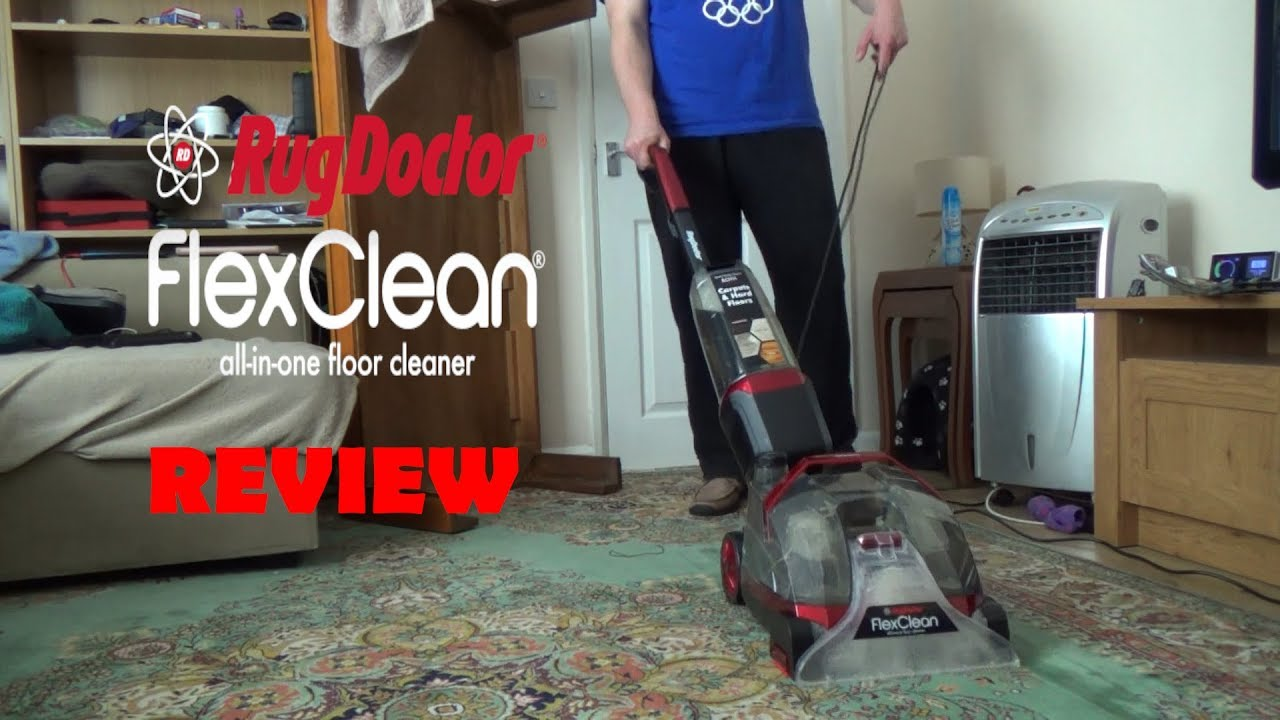 Rug Doctor Flexi Clean Review - YouTube