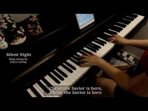 Silent Night Singalong - Piano cover & Sheets