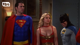 Halloween - The Justice League of America | The Big Bang Theory | TBS