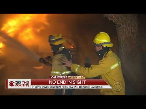 THEY DIDN'T TELL YOU WHY THE CALIFORNIA FIRES ARE REALLY HAPPENING, END TIMES SIGNS OCTOBE