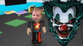 Клоун киллер в Роблокс Побег от злого BAD Клоуна Роблокс по русски для детей