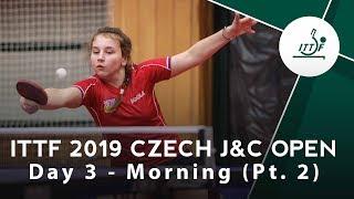 2019 Czech Junior & Cadet Open | Day 3 Morning Pt 2