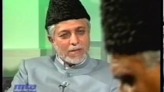 Interview Ataul Mujeeb Rashid sahib at Jalsa Salana Germany 2002