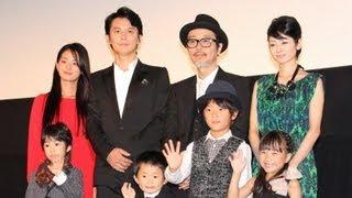 歌手で俳優の福山雅治さんの主演映画「そして父になる」(是枝裕和監督...