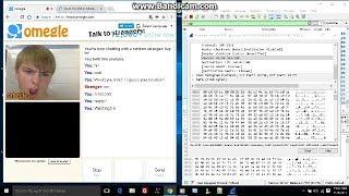Omegle Location tracking prank![IP tracker]01