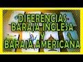 Baraja Inglesa y baraja española