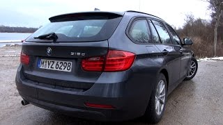 2015 BMW 318d Touring (143 HP) Test Drive