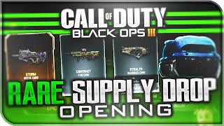 RARE SUPPLY DROP OPENING! - Worst Black Ops 3 Supply Drop EVER! (BO3 Black Market)