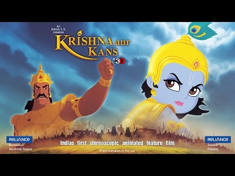 Thumbnail: Krishna and Balrama in Kansa's Arena