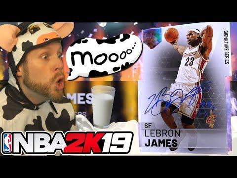 I turned into a Cow for LeBron James NBA 2K19