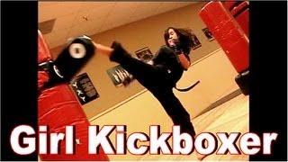 Awesome Girl Kickboxer