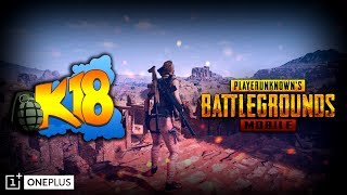 PUBG Mobile : Custom games | Mobile Player | OnePlus | ft. Roach