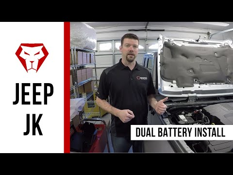Installation Instructions for the Jeep JK Dual Battery Kit
