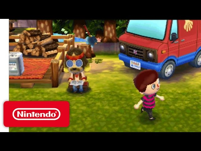 Animal Crossing: New Leaf Welcome amiibo Trailer