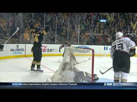 Carl Soderberg scores his first NHL goal 10/31/13