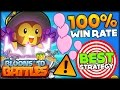 THE BEST STRATEGY? 100% WINRATE BLOONS TD BATTLES BEGINNER STRATEGY!! (Bloons TD Battles)