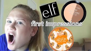 FULL FACE FIRST IMPRESSIONS- ALL DRUGSTORE!!