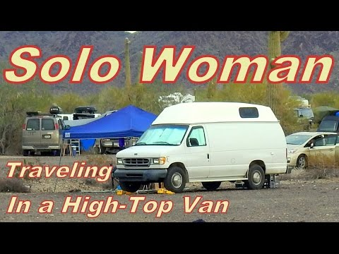 Sassy Shows us How She Converted her High-Top Cargo Van