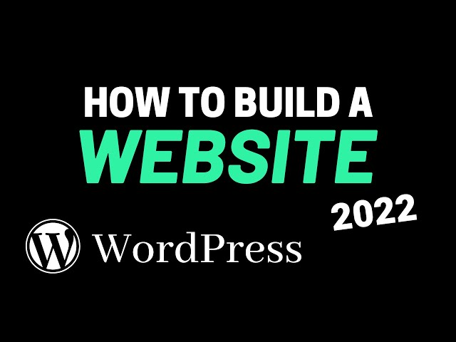 How to Build a WordPress Website from Scratch (2020)
