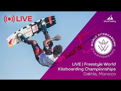 LIVE | Freestyle World Kiteboarding Championships | Dakhla,