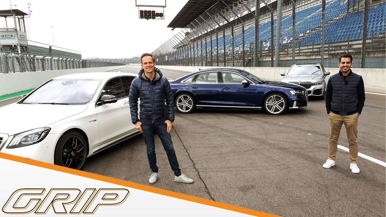 Luxus-Powerlimos: Audi S8, BMW M 760Li, Mercedes-AMG S 63 Teil 1 I GRIP