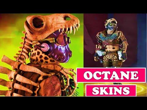 ALL OCTANE SKINS COSMETICS - Apex Legends