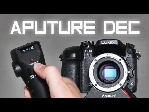 Wireless Follow Focus And Camera Control [Aputure DEC]